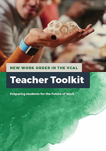 New Work Order VCAL Teacher Toolkit