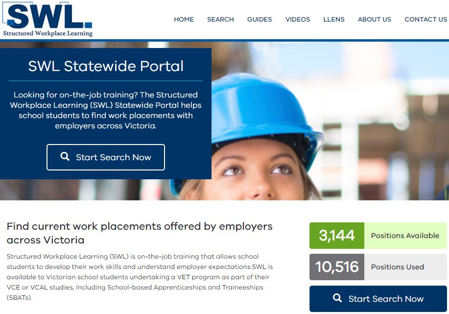 SWL portal snapshot
