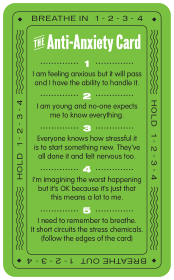 Anti Anxiety Card