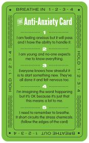 Anti Anxiety Card