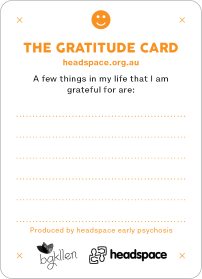 Gratitude Anxiety Management