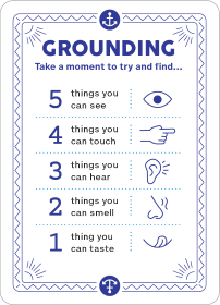 Grounding Anxiety Management