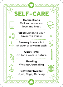 Self Care Anxiety Management