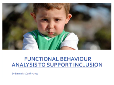 Functional Behaviour Analysis To Support Inclusion